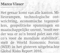 World Economic Forum- Klimaat en migratie grootste risico voor economie 02